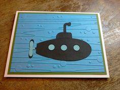 Gins handmade card 373