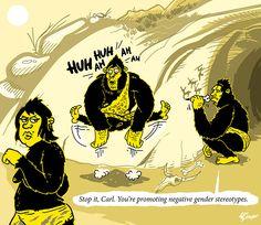 #cartoon #cavemandna #gender