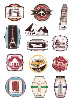 Luggage Stickers - No. Luggage Stickers, Phone Stickers, Journal Stickers, Suitcase Stickers, Up Imagenes, Graffiti Wallpaper Iphone, Travel Doodles, Travel Stamp, Tumblr Stickers