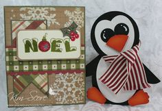 Penguin treat box and card