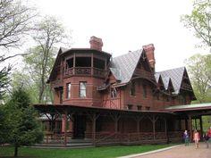 Mark Twain's home in Connecticut.