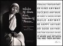mother teresa quotes - Google Search