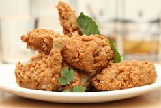 Just when you thought fried chicken couldn't get any better... Thai-style fried chix from Kin Shop.