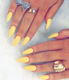 Spring Nail Colors #nails
