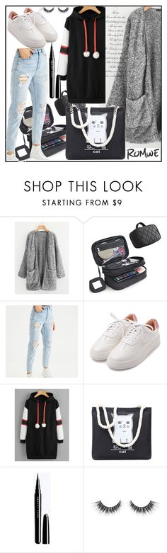"""""""ROMWE"""" by zlatibor-1 ❤ liked on Polyvore featuring American Eagle Outfitters"""