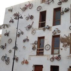 Been here. The bikes were so cool to see on the wall!