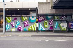 Urban Outfitters Nottingham Mural on Behance