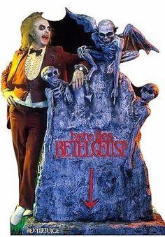 BEETLEJUICE HERE LIES BETELGEUSE LIFE SIZE STANDUP CARDBOARD CUTOUT 1497