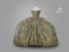 Coronation dress Elizabeth of Russia
