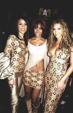 Destiny's Child / 3 GORGEOUS YOUNG GIRLS! AND DO YOU BELIEVE THAT BEY'S MOM ALWAYS MADE THEIR OUTFITS? WHAT STYLE SHE HAS!