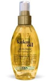 Organix Kukui Oil Defrizz Hydrating Oil 118 ml - Saç Bakım Yağı  Bukleli ve düz saçlar için elektriklenmenin ve kabarmanın giderilmesi için saçlara uzun süre parlaklık ve canlılık kazandıran, bukleleri nemlendiren saç bakım yağı karışımı!