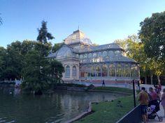 Palacio de Cristal. Parque del Retiro. Madrid!