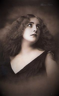 HENNY PORTEN (1890-1960) was a German actress & film producer of the silent era, and Germany's first major film star. She appeared in more than 170 films between 1906-1955. Many of her earlier films were directed by her husband Curt A. Stark, who died during WWI in Transylvania in 1916. Her father, Franz Porten, was also an actor & film director. (see other pin)