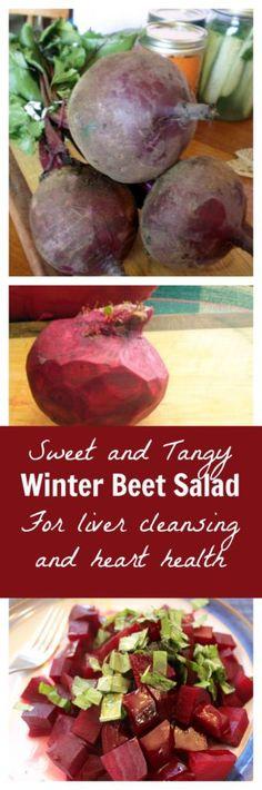 SWEET AND TANGY BEET SALAD (GAPS, PALEO, SEASONAL – Medi Idea