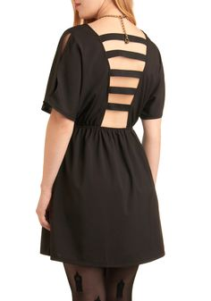 Vestido de regaliz Escalera | Mod Retro vestidos de época | ModCloth.com