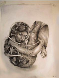 Mermaid by Selejt on DeviantArt