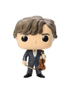 Funko Sherlock Pop! Television Sherlock With Violin Vinyl Figure,