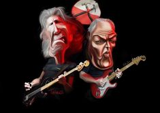 Pink Floyd - Roger Waters - David Gilmour
