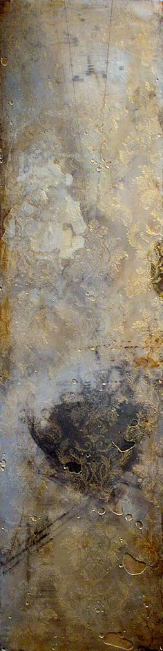 comp: 452 ~ mixed media ~ by eric yevak - Painting Abstract Expressionism, Abstract Art, Arte Popular, Encaustic Painting, Art Abstrait, Grey And Gold, Wassily Kandinsky, Medium Art, Painting Techniques
