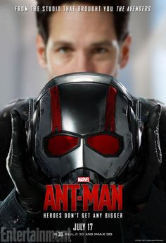 Paul Rudd as Scott Lang, A.K.A. Ant-Man - 'Ant-Man' - 7 EW Exclusive New Character Posters - EW.com