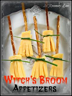 21 Rosemary Lane: Three Fun Food Ideas for a Witch's Bash