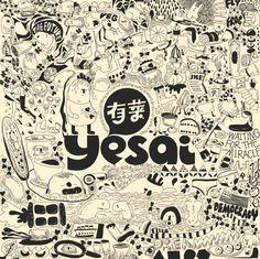 Brand Yesai by Xuefei Ji, via Behance
