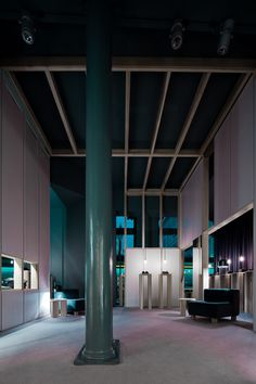 Akin to a Cinema Set (Milan 2010) is an architectural project designed by Sicilian architect Antonino Cardillo for Sergio Rossi and Wallpaper* magazine. Photography by Antonino Cardillo.