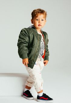 Baby Gap Toddler Boys Olive Hooded Fishtail Puffer Parka Coat Jacket NWT