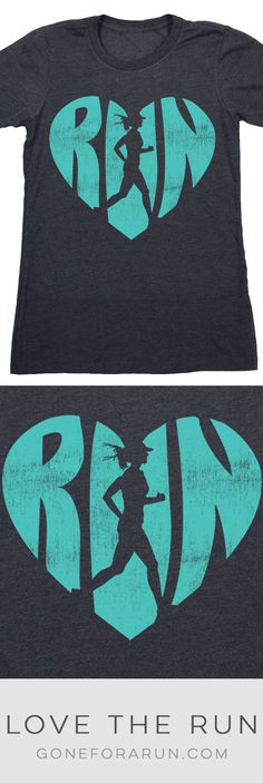 Love The Run Everyday Runner Tee. <3
