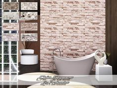 Chic Stones eight rock patterns by Pralinesims - Sims 3 Downloads CC Caboodle