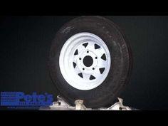 Carlisle Sport Trail Trailer Tire and Wheel 5.30x12 (5 Lug)