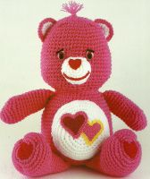 Lov-A-Lot's Bear's Hearts - The Vintage Toy Chest: Crochet Patterns - free patterns