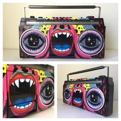 Mac Blackout, Boomboxes I've painted this spring. If you're...