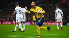 Gonzalo Higuain of Juventus celebrates after scoring the equalising goal during the UEFA Champions League Round of 16 Second Leg match between Tottenham Hotspur and Juventus at Wembley Stadium on March 7, 2018 in London, United Kingdom. - 104 of 146