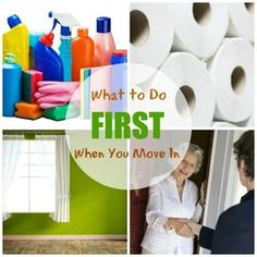So you've closed on a new house and you're holding the keys. It's all yours! Now what? Here's a checklist of what to do FIRST when you move into a new home! #RealEstate