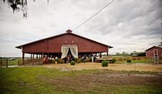 Country barn wedding in FL