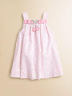 Florence Eiseman Toddler's & Little Girl's Pique Ribbon Dress