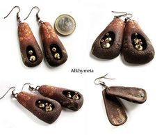 Primitivo, earrings | More pictures on: www.alkhymeia.com/co… | Flickr