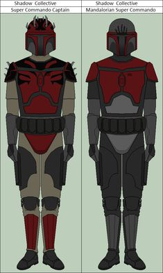 Mandalorian Super Commandos by vidopro97