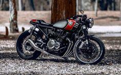 1978 Kawasaki KZ650 Cafe Racer by Ruffo Black Customs #motorcycles #caferacer #motos   caferacerpasion.com
