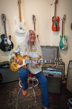 You've Got A Home: June Millington's Lifelong Journey In Rock (June Millington at Fanny's House of Music in East Nashville.)