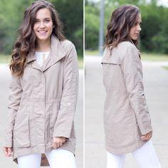 cory jacket in warm taupe https://www.instagram.com/p/BYrzfAHhuQO/