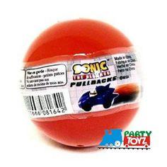 "Partytoyz Inc. - Sonic The Hedgehog Tomy Gacha Ball Pullback Racers 1.5"" (Unopened), $6.99 (http://www.partytoyz.com/sonic-the-hedgehog-tomy-gacha-ball-pullback-racers-1-5-unopened/)"
