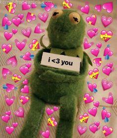 heart eyes kermit The post heart eyes kermit appeared first on Kermit the Frog Memes. Frog Wallpaper, Wallpaper Iphone Cute, Aesthetic Iphone Wallpaper, Kermit The Frog Meme, Heart Meme, Cartoon Jokes, Spongebob Cartoon, Cute Love Memes, Meme Pictures