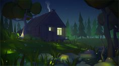 House2 Night by prusakov on DeviantArt
