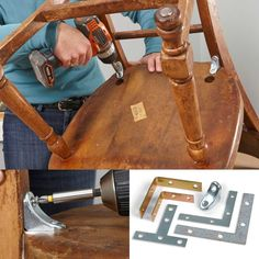 Fast Furniture Fixes ~ Repair nicks, scratches, dings and dents in your wood furniture. Plus, use easy repairs for everyday furniture to save a chair or table that's on its last legs.