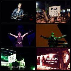 Depeche Mode @ Delta Machine tour in Greece!