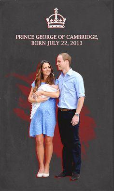 Welcome!  #PrinceGeorgeOfCambridge #RoyalBaby