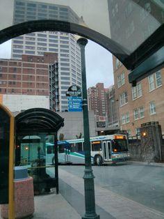 Downtown transit terminal at 10th & Main