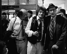 Allen Ginsberg, Gregory Corso, and William S. Burroughs by Christopher Felver (1990)